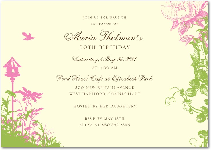 Garden Wedding Invitations: 31 Days Of Weddings-Day 3: Garden Party Theme